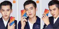 Dipegang Kris Wu, Xiaomi Mi Mix 2S Jadi Mirip Hape Xiaomi Mi Mix 2?