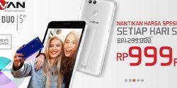 Shopee Buka Flash Sale Advan i5C Duo Rp 999 Ribu Tiap Senin, Catat!