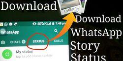 Cara Mudah Menyimpan Status WhatsApp Gebetan Langsung Ke Gallery