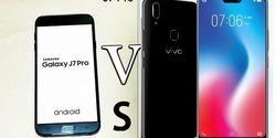 Harganya Sama, Samsung Galaxy J7 Pro dan Vivo V9, Bagus Mana?