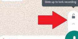 Voice Note WhatsApp Kini Bisa Dikunci, Tak Perlu Repot Tahan Layar