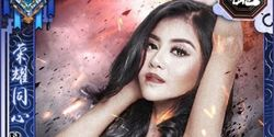 Model Seksi Tania Putri Muncul di Game Three Kingdom, Netizen Salfok!