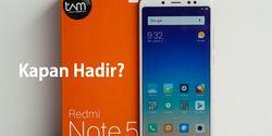 Kapan Xiaomi Redmi Note 5 Dipasarkan di Indonesia? Catat Tanggalnya