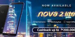 Huawei Nova 2 Lite Cashback Sampai Rp 200 Ribu Ditawarkan Erafone