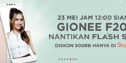Flash Sale Gionee F205 Diskon Rp 500 Ribu Digelar Shopee 2 Hari Lagi