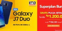 Cara Beli Samsung Galaxy J7 Duo Plus Bonus Pulsa Rp 1.2 Juta di Blibli