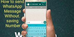 Cara Kirim Pesan WhatsApp Tanpa Perlu Simpan Nomor, Lebih Praktis