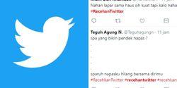 Ramai #recehantwitter, Hiburan Murah Sambil Nunggu Buka Puasa