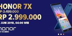 Besok Ada Flash Sale Honor 7X Seharga Rp 3 Juta, Hemat Rp 1.5 Juta Loh