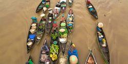 Lewat aplikasi Go-Klotok, Turis Bisa Pesan Perahu ke Pasar Apung Banjarmasin