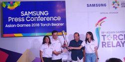 Samsung Dukung Asian Games 2018 dengan Berikan Smartphone dan Televisi