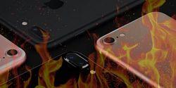 iPhone 7 Terbakar Karena Overheat, Remaja 18 Tahun Alami Luka