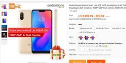 Xiaomi Mi A2 Lite Sudah Dijual Mulai Rp 2,8 Juta, Versi Murah Mi A2