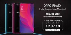 Laku Ribuan Unit Hari Pertama, Preorder Oppo Find X Dibuka Lagi