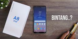 Perbandingan Harga Samsung Galaxy A8 Star di Toko Online Indonesia