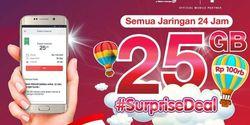 Surprise Deal Telkomsel, Rp 90 Ribu Dapat Kuota 25 GB Cuma Sehari Ini