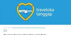 Peduli Korban Gempa Lombok Lewat 'Traveloka Tanggap', Tukar Poin Buat Donasi
