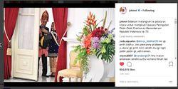 Romantisnya Foto Selfie Jokowi dan Iriana, Diduga Kuat Ini Hape Yang Dipakai