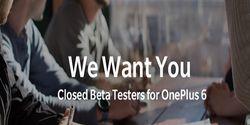 OnePlus Cari 100 Pengguna untuk Uji Pembaruan OnePlus 6 Terbaru