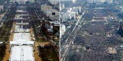 Fotografer Akui, Foto Pelantikan Trump Diedit Agar Terlihat Lebih Banyak Dihadiri Warga