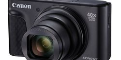 Canon PowerShot SX740 HS, Kamera Saku Ramping dengan 40x Optical Zoom & video 4K