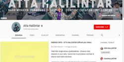 Raditya Dikalahkan Atta Halilintar, Si Youtuber yang Doyan Grebek