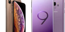 Perbandingan Spesifikasi iPhone Xs Dengan Samsung Galaxy S9 Plus