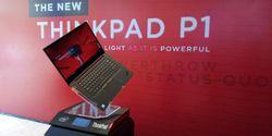 Lenovo ThinkPad P1, Laptop Ringan Stylish Yang Siap Kerja Berat