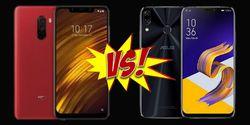 Hape 4 Jutaan, Mana Lebih Kece Antara Asus Zenfone 5 VS Pocophone F1?