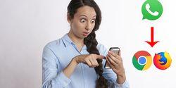 Cara Menyadap Whatsapp Pasangan Tanpa Aplikasi,  Cukup Pakai Browser Hape!