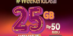 Telkomsel Tawarkan Paket #WeekendDeal, Harga Rp 50 Ribu Dapat 25GB
