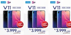 Vivo V11 Cashback 500 Ribu, Rayakan 5 Tahun Vivo di Indonesia