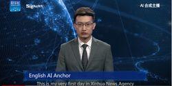 Muncul Sebagai Robot AI, Presenter Berita TV Ini Bukan Manusia