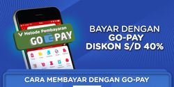 Harbolnas, Bayar Pakai GO-Pay di JD.ID Dapat Diskon 40 Persen