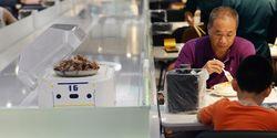 Robot Buatan Alibaba Kini Gantikan Peran Pelayan Restoran Di Shanghai