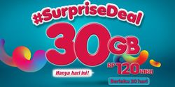 Paket #SurpriseDeal Telkomsel Hadir Lagi, Beli 30 GB Cuma Rp 120 Ribu