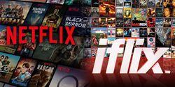 Serunya Tingkah Admin Netflix dan Iflix Indonesia Saling Perang Pantun