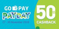 Go-Pay Berikan Promo 50 Persen di 2000 Outlet, dari Kulineran Hingga Transport