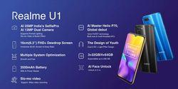 Spesifikasi Realme U1 yang Resmi Meluncur di India Mulai Rp 2 Jutaan