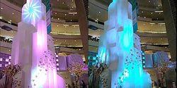 Senayan City Berhias Menara Cahaya Pintar Berbasis IoT Interact, Semarakkan Akhir Tahun