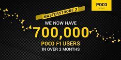 Pocophone F1 Jadi Best Seller, 700 Ribu Unit Terjual Dalam 3 Bulan