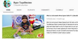 Suka Review Mainan, Bocah 7 Tahun Raup Rp 314 Miliar dari YouTube