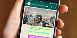 Cara Nonton Video Sambil Chatting Pakai WhatsApp, Gampang Banget