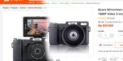 Kamera Mirrorless Ini Cuma Rp. 800 Ribuan, Cukup Buat Ngevlog!