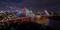 Sistem Pencahayaan Pintar Berbasis IoT untuk Gedung, Jembatan dan Sungai di Shanghai