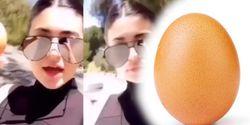 Kalahkan Kylie Jenner, Foto Telur Dapat Like Terbanyak di Instagram