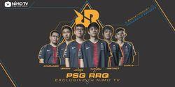 Nimo TV Hadirkan Tim RRQ eSports yang punya 114 penghargaan dalam dan luar negeri