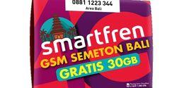 Khusus Masyarakat Bali, Smartfren Hadirkan Kartu Perdana Bali