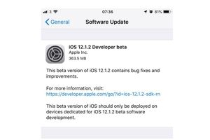 Apple Rilis iOS 12.1.2 Developer Beta 1