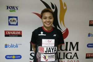 Turun pada Djarum Superliga 2019, Apriyani Rahayu Masih Lahap Program Latihan Tur Eropa
